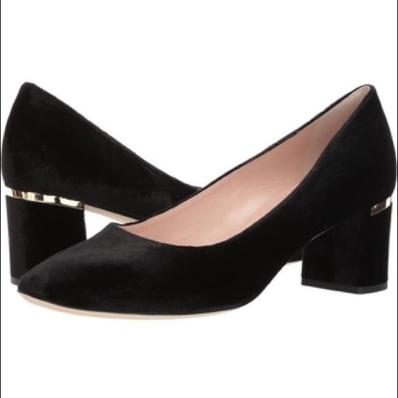 e45d028f49d Kate Spade New York Dolores Too Kitten Heels Black